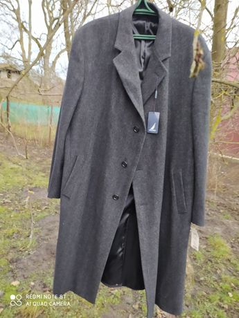 Пальто шерстяне велике