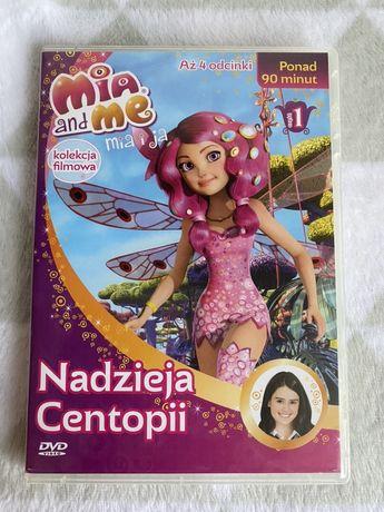 Płyta dvd Mia and Me mia i ja Nadzieja Centopii 4 odcinki część 1