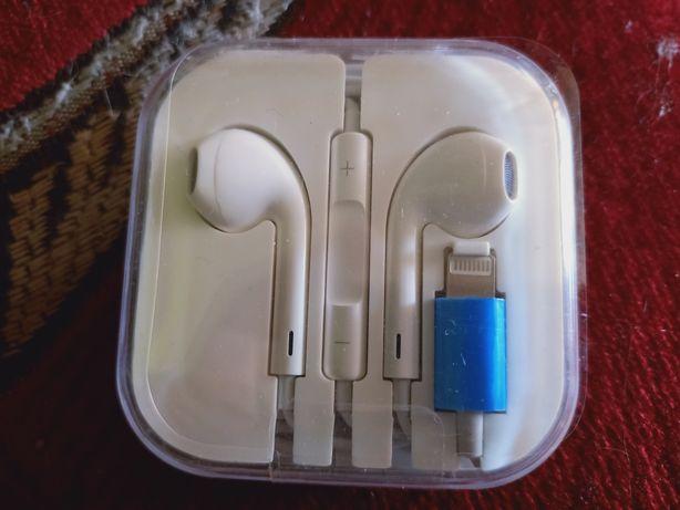 Słuchawki lightning do iPhone dwie pary