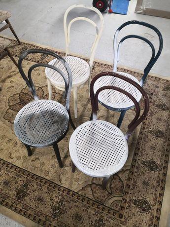 Krzesła cztery sztuki PRL vintage
