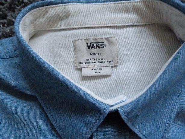Vans koszula blue denim r. S s. bdb(+)