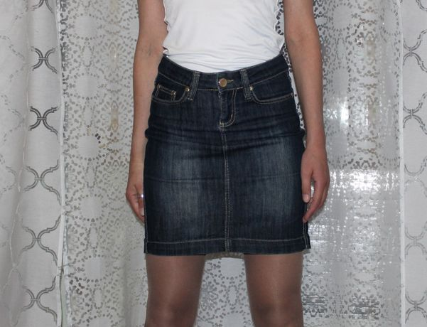 Джинсовая юбка миди. Отличное качество и состояние.Турция.