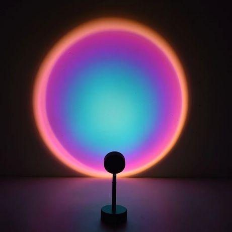 Лампа радуга красивая
