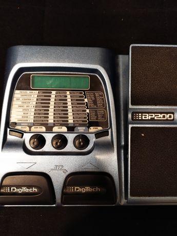 Digitech bp200 multiefekt basowy