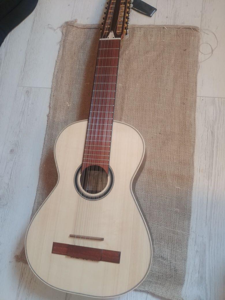 Viola terceira mandolina 18 strun gitara lutnia APC