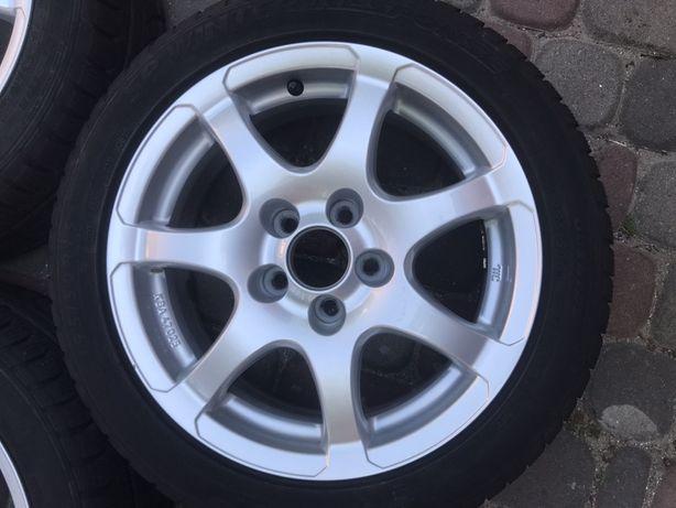 Диски 5/100 R15 з резиною 195/50 Dunlop