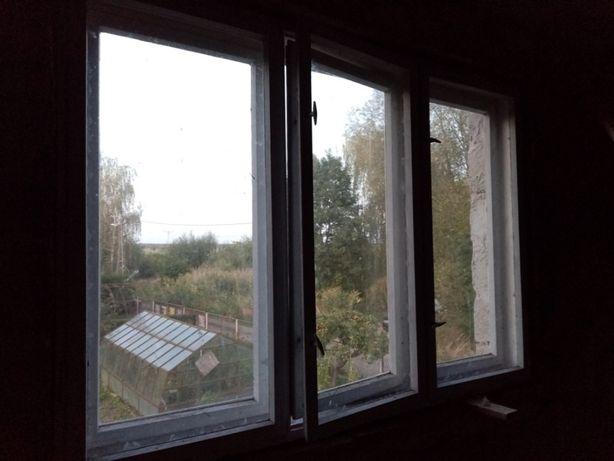 Okno skrzynkowe dębowe