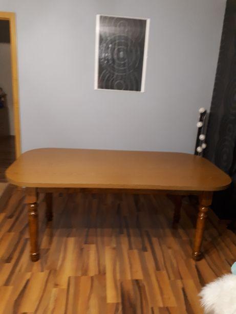 Stół rozkładany w kolorze dębu