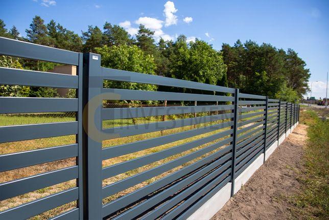 Przęsło panele ogrodzeniowe palisadowe. Przęsła na wymiar. Duży wybór.