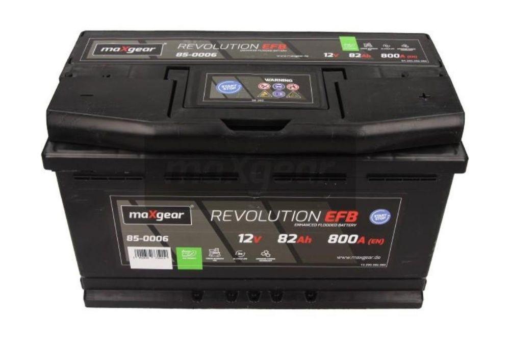 Akumulator maXgear REVOLUTION EFB Start-Stop 12V 82Ah 800A P+ Kraków