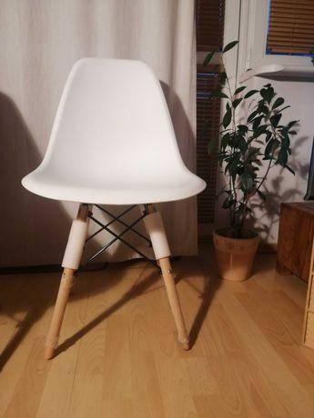 Krzesło biale okazja