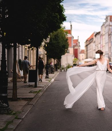 suknia ślubna BE CHIC Agata Wojtkiewicz