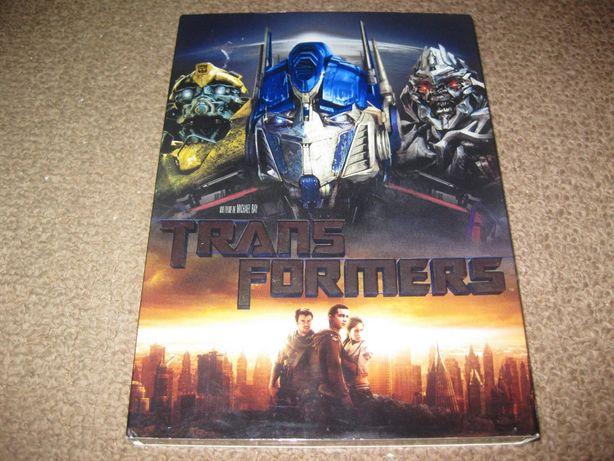 """DVD """"Transformers"""" Edição Especial em Slidepack!"""
