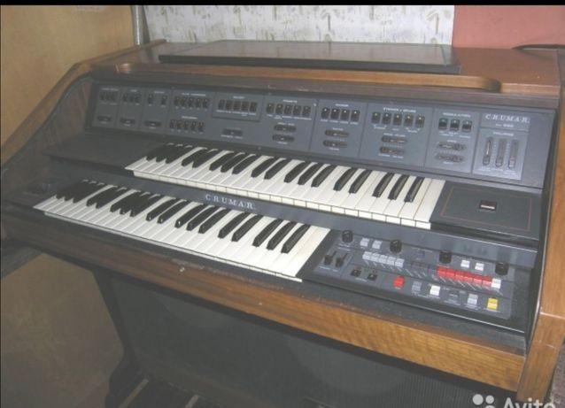 Piano electrónico vintage
