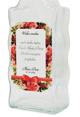 Etykiety samoprzylepne na alkohol - FLOWERS