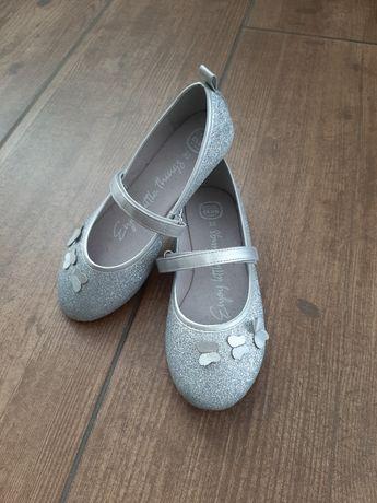 Brokatowe buciki