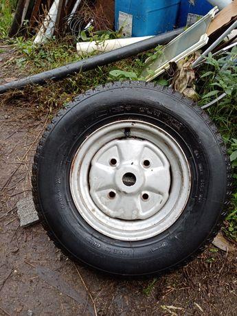 Roda R10 com pneu Michellin