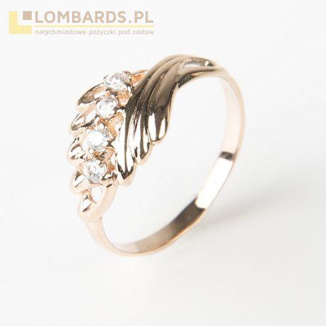 złoty pierścionek P. 585 rozmiar 12