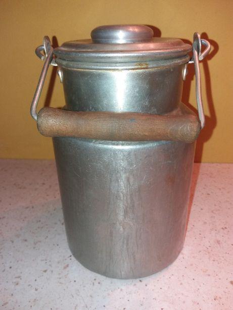 Kanka na mleko z PRLu - oryginalna, retro pamiątka
