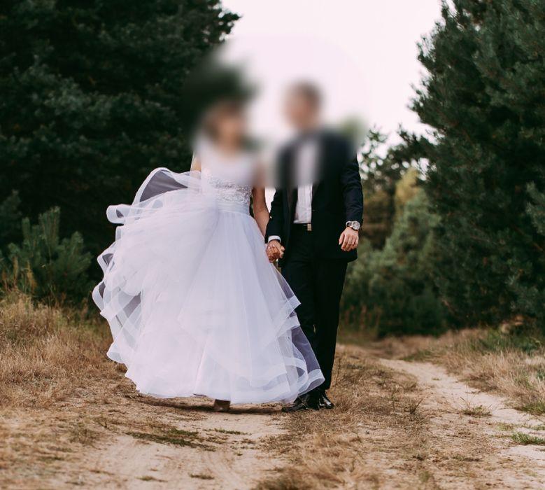 Suknia ślubna rozmiar ok 34 Częstochowa - image 1