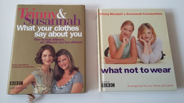 """English BBC Trinny and Susannah """"What not to wear"""""""