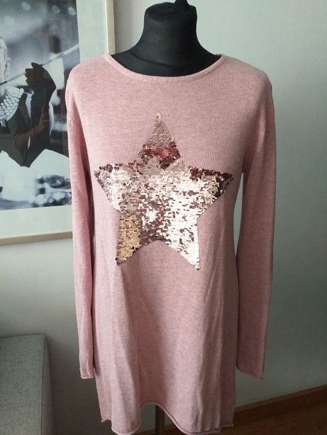 Gina Benotti roz S sweter
