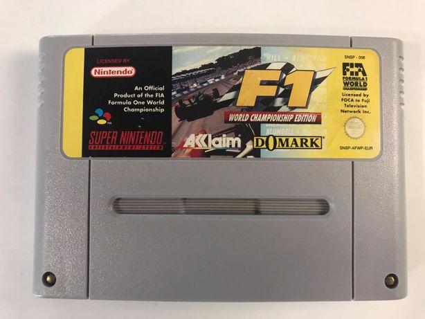 Gra F1 World Championship Edition Super Nintendo SNES PAL