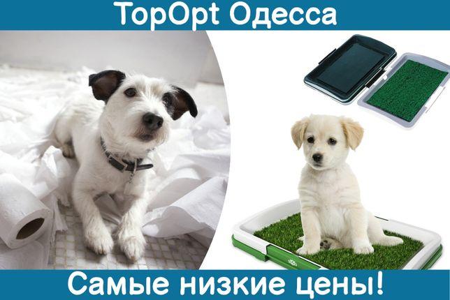 Домашний приучающий зеленый туалет для собак и кошек травка для щенков
