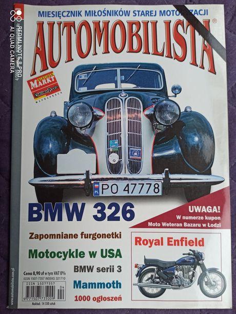 Automobilista nr 61 (4/2005) Royal Enfield, BMW 326 i seria 3, Mommoth