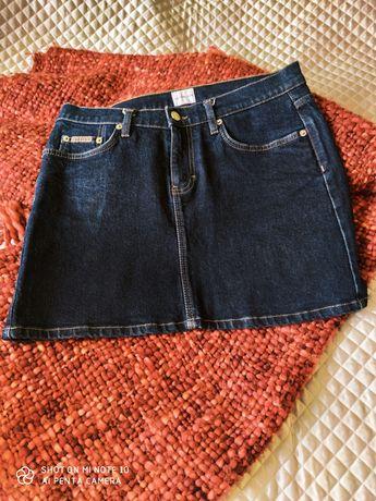 Spódniczka jeansowa Calvin Klein