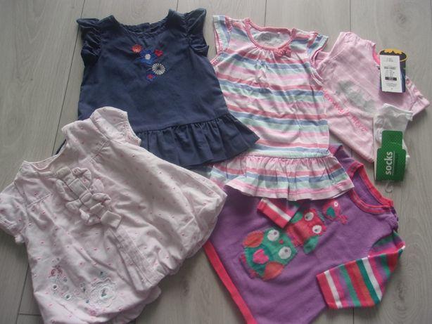 zestaw sukienek sukienka dziewczynka 6 miesięcy 68/74 george