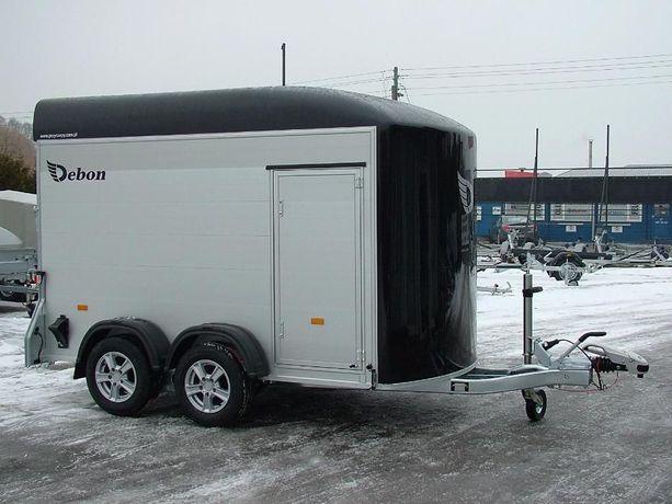Przyczepa furgon kontener cargo aluminiowa