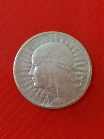 Монета 2 злотих Ядвіга 1932р.-1934р.