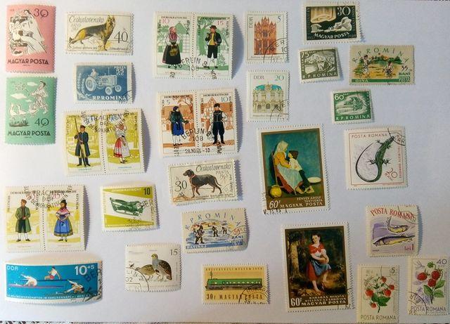 Komplet znaczków pocztowych VI - 30 szt.