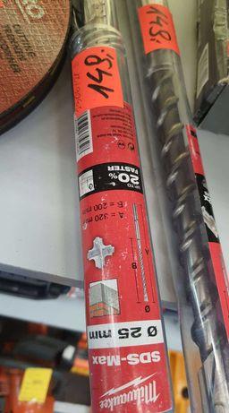 Wiertło SDS Max Milwaukee 18mm 540mm NOWE! * Lombard Madej Gorlice