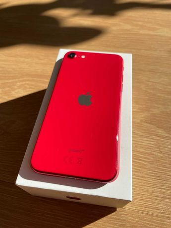 apple iphone se 2020 na gwarancji igla  red 64gb
