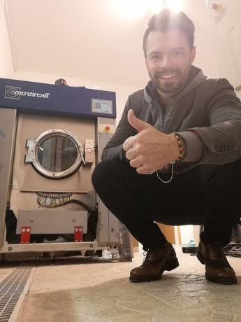 Alugamos equipamentos lavandaria self service e industrial