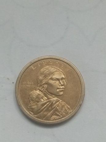 Монета liberty 2009 рик