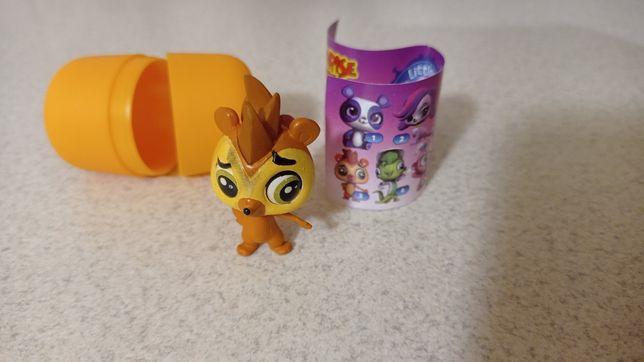 LPS Littlest Pet Shop - Russel Ferguson -Pomarańczowy jeż figurka 3D