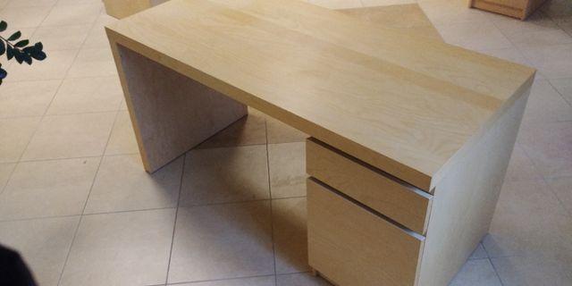Biurko Ikea Malm - 3 sztuki