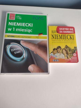 Książki do nauki języka niemieckiego i rumuńskiego