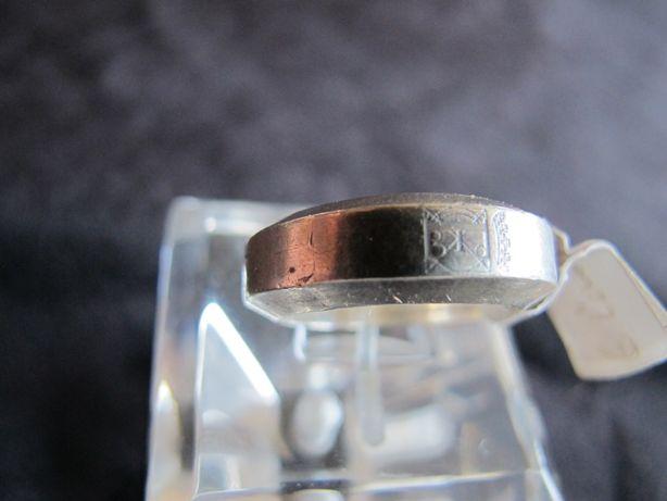 Anel / aliança em prata com marca Eugénio Campos
