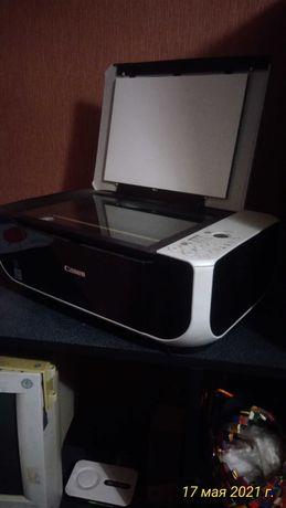 Продам  цветной принтер б/у Canon mp 210