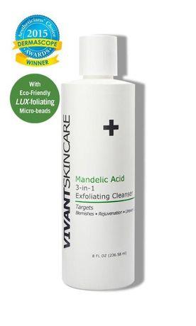 VIVANT Mandelic Acid 3-In-1 Exfoliating Cleanser 118ml