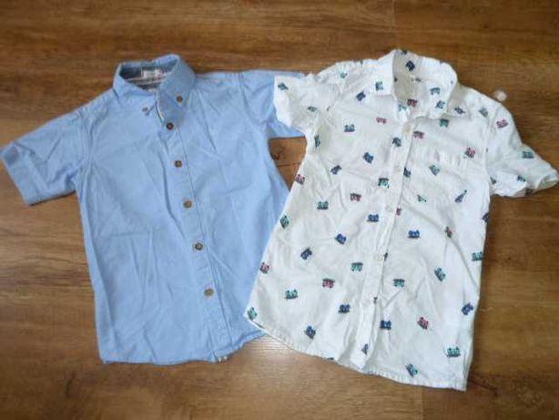Рубашки на 7-8 лет в идеальном состоянии, короткий рукав
