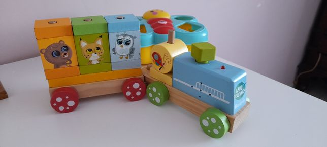 Pociąg lokomotywa gang słodziaków