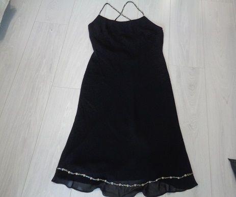sukienka czarna Edina M/L