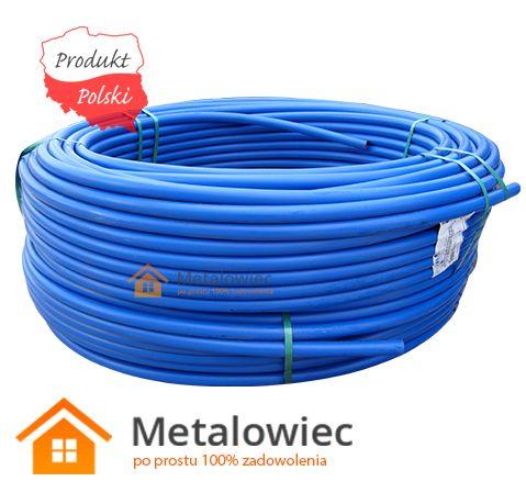 Rura wodociągowa średnica: 25mm, ścianka: 2,0mm do wody pitnej PE 100