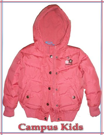 Пуховик, зимняя куртка Campus Kids рост 98 см