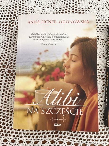 """Książka """"Alibi na szczęście"""""""